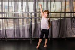 Χορευτής μικρών παιδιών στοκ εικόνες με δικαίωμα ελεύθερης χρήσης