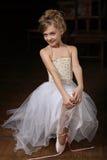 χορευτής μπαλέτου λίγα Στοκ Εικόνα