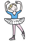 χορευτής μπαλέτου Στοκ Εικόνα