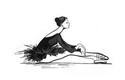 χορευτής μπαλέτου Στοκ Φωτογραφίες