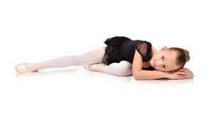 χορευτής μπαλέτου λίγα Στοκ Εικόνες