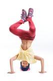 Χορευτής σπασιμάτων νέων κοριτσιών Στοκ φωτογραφίες με δικαίωμα ελεύθερης χρήσης