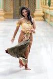 χορευτής Ταϊλανδός Στοκ Εικόνες