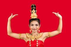 χορευτής Ταϊλανδός στοκ εικόνα