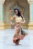 χορευτής Ταϊλανδός Στοκ εικόνα με δικαίωμα ελεύθερης χρήσης