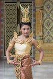 χορευτής Ταϊλανδός Στοκ Φωτογραφίες