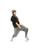 χορευτής φοβιτσιάρης στοκ εικόνα με δικαίωμα ελεύθερης χρήσης