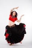 χορευτής φυλετικός Στοκ εικόνα με δικαίωμα ελεύθερης χρήσης