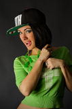 Χορευτής χιπ-χοπ Στοκ Εικόνες