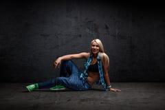 Χορευτής χιπ χοπ στοκ εικόνες