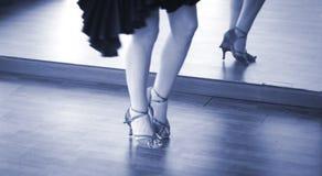 Χορευτής χορού αιθουσών χορού Στοκ Φωτογραφία