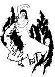 χορευτής απεικόνιση αποθεμάτων