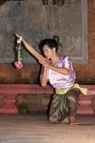 χορευτής apsara Στοκ φωτογραφία με δικαίωμα ελεύθερης χρήσης