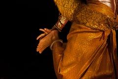 Χορευτής Apsara Στοκ εικόνα με δικαίωμα ελεύθερης χρήσης