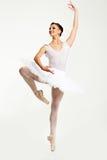 Χορευτής Ballerina στο tutu Στοκ Φωτογραφία