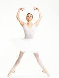 Χορευτής Ballerina στο tutu Στοκ φωτογραφία με δικαίωμα ελεύθερης χρήσης
