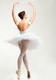 Χορευτής Ballerina στο tutu Στοκ εικόνα με δικαίωμα ελεύθερης χρήσης