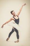 Χορευτής Ballerina στο tutu Στοκ εικόνες με δικαίωμα ελεύθερης χρήσης