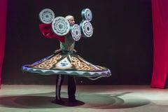 Χορευτής Hurghada Αίγυπτος δερβίσηδων Στοκ εικόνα με δικαίωμα ελεύθερης χρήσης