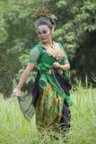 Χορευτής Sundanese Στοκ Φωτογραφία