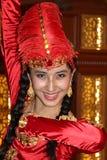 Χορευτής Uyghur στοκ φωτογραφία