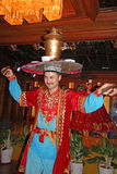 Χορευτής Uyghur Στοκ εικόνες με δικαίωμα ελεύθερης χρήσης