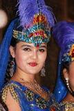 Χορευτής Uyghur Στοκ φωτογραφίες με δικαίωμα ελεύθερης χρήσης