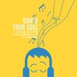 Χορεψτε η ψυχή σας Στοκ Εικόνες