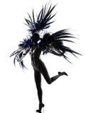 χορεύοντας γυναίκα περιοδικών χορευτών showgirl Στοκ Εικόνα