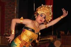 Χορεύοντας γυναίκα σε Sebatu, Μπαλί Στοκ Φωτογραφία