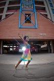 χορεύοντας γυναίκα Στοκ Εικόνα
