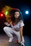 Χορεύοντας γυναίκα στοκ φωτογραφία