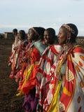 χορεύοντας γυναίκες maasai Στοκ Εικόνες