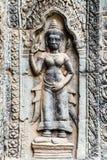 Χορεύοντας διακόσμηση Apsara Angkor, Καμπότζη Στοκ φωτογραφία με δικαίωμα ελεύθερης χρήσης