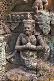 Χορεύοντας διακόσμηση Apsara Angkor, Καμπότζη Στοκ εικόνα με δικαίωμα ελεύθερης χρήσης