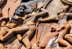Χορεύοντας διακόσμηση Apsara Angkor, Καμπότζη Στοκ Φωτογραφία