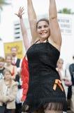χορεύοντας ευτυχής οδό&si στοκ φωτογραφία με δικαίωμα ελεύθερης χρήσης
