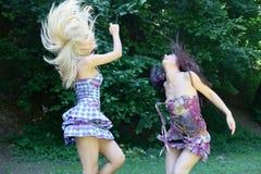 χορεύοντας κορίτσια Στοκ Εικόνες