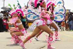 Χορεύοντας κορίτσια στοκ φωτογραφία