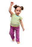 χορεύοντας κορίτσι ελάχ&io Στοκ φωτογραφία με δικαίωμα ελεύθερης χρήσης
