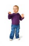 χορεύοντας κορίτσι ελάχ&io Στοκ εικόνες με δικαίωμα ελεύθερης χρήσης