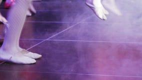 Χορεύοντας κορίτσι μπαλέτου απόθεμα βίντεο