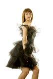 χορεύοντας κορίτσι όμορφο Στοκ Φωτογραφίες