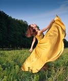 χορεύοντας κορίτσι στοκ φωτογραφίες
