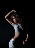 χορεύοντας κορίτσι Στοκ Εικόνες