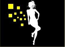 χορεύοντας κορίτσι Στοκ Φωτογραφία