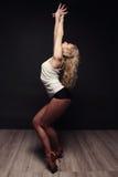 Χορεύοντας κορίτσι. Στοκ φωτογραφία με δικαίωμα ελεύθερης χρήσης