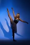 Χορεύοντας κορίτσι ballerina Στοκ Φωτογραφία