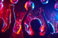 Χορεύοντας κόμμα στοκ εικόνες