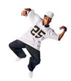 χορεύοντας λευκές νεο&l Στοκ φωτογραφία με δικαίωμα ελεύθερης χρήσης